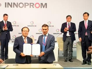 Russian industrial parks and Korea will collaborate in accordance with the official agreement